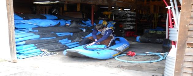 Peshtigo River Wisconsin whitewater rafting