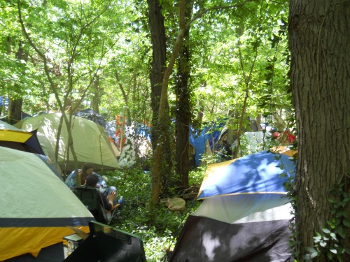 Summer Camp Music Festival camping