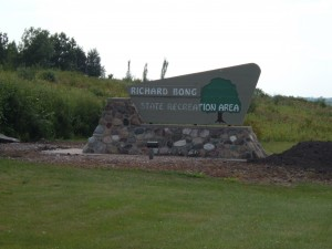 Richard Bong State Recreation Area - Wisconsin State Park sticker
