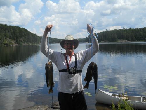 Fish in Quetico Provincial Park Canada
