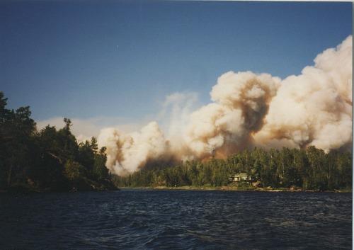 Sag Lake Fire Boundary Waters Canoe Area