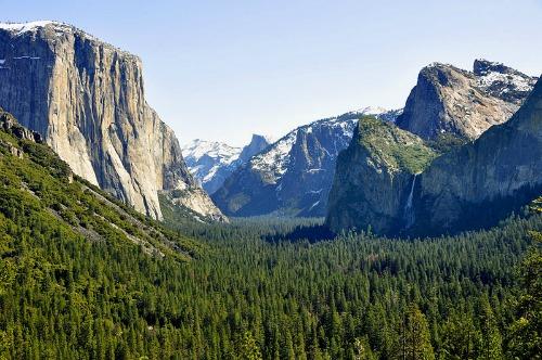 Iconic Yosemite Valley