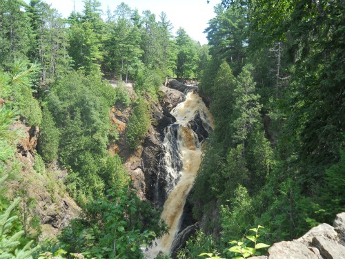 Big Manitou Falls Pattison State Park