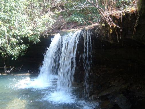 Falls Creek Falls Big South Fork Tennessee