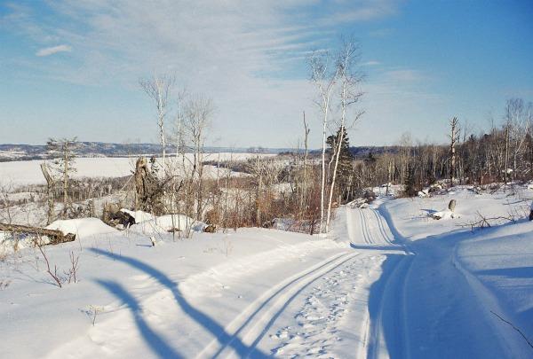 Skiing Gunflint