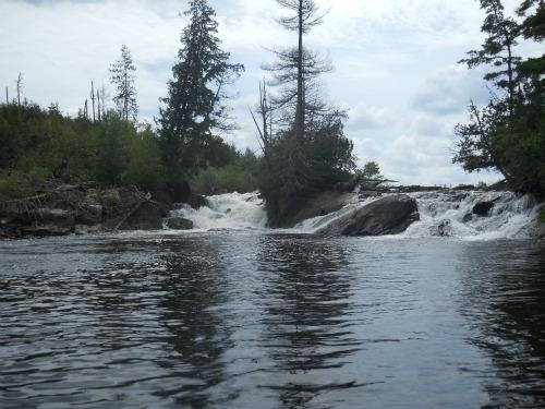 Kennibis Falls Quetico Canada