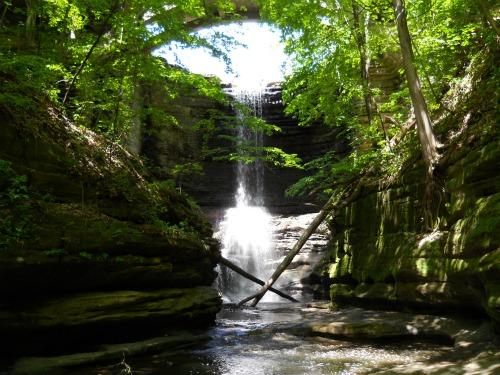 Lake Falls Matthiessen State Park Illinois