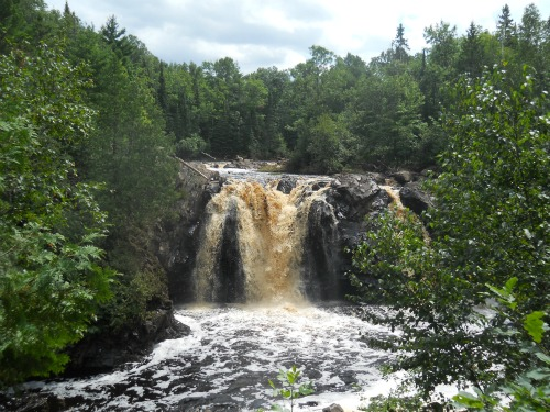 Little Manitou Falls Pattison State Park, Wisconsin