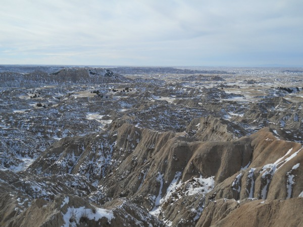 Badlands National Park touch of grey