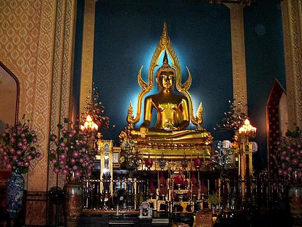 Golden Buddha Bangkok Thailand