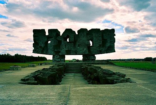 Majdanek death camp Poland
