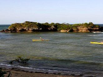 Kayaking the Tanzanian coast