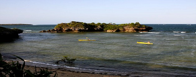 Kayaking the Tanzanian coast