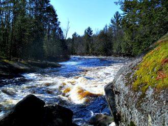 Horserace Rapids Peshtigo River Wisconsin