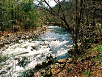 Kayaking the Great Smoky Mountains