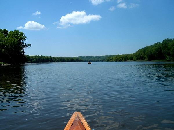 Wisconsin River canoeing
