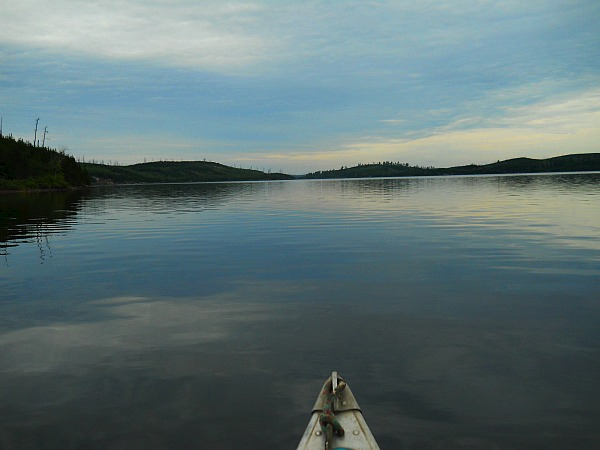 Lake Kawnipi in Quetico