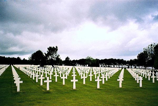 Omaha Beach Cemetery Normandy