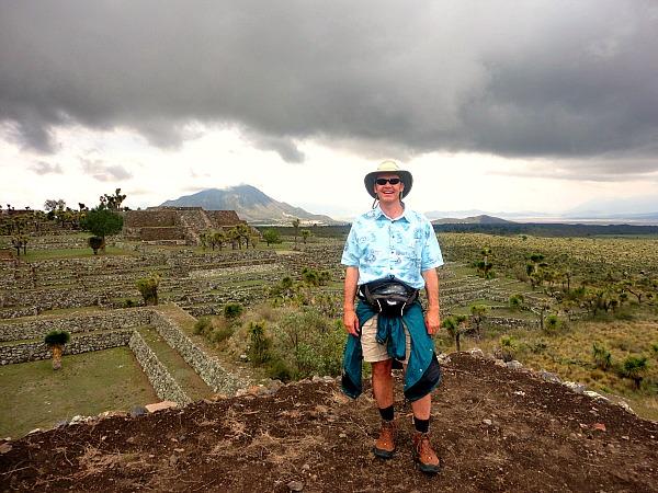 Olmec ruins Cantona Mexico