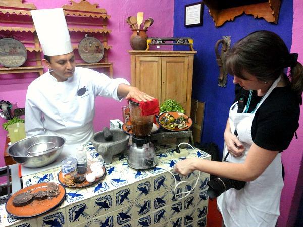 Mesones Sacristía Culinary School