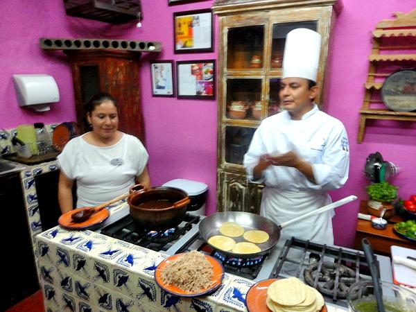 Puebla Mexico chalupas