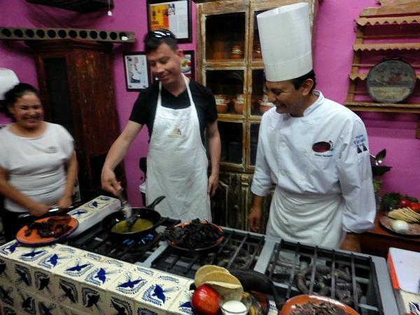 Puebla Mexico cooking