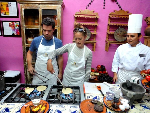 Puebla Mexico culinary school