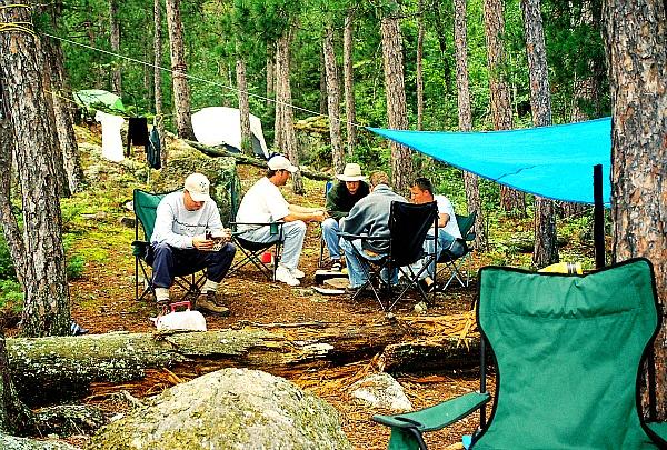 Quetico camping