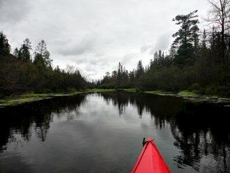 Brule River kayaking Wisoonsin