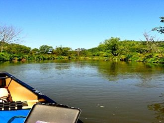 Kickapoo River canoeing