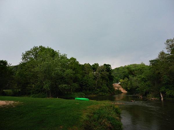 Kickapoo River camping