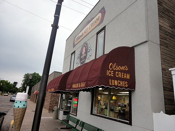 Olsons Ice Cream Chippewa Falls Wisconsin