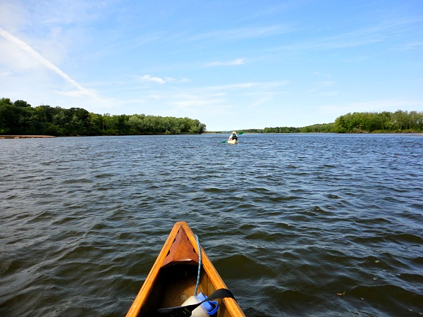 Wisconsin River canoeing and three more rivers to go