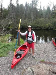 Kayak Brule River Wisconsin