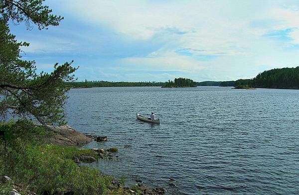 Canoeing Quetico