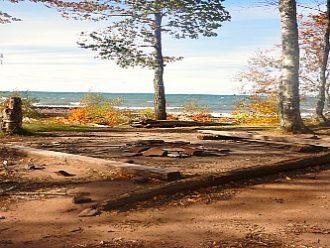 Porcupine Mountains Lake Superior camping