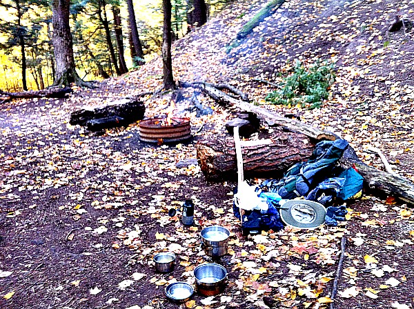 Porcupine Mountains camping