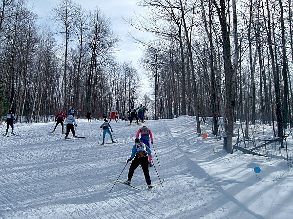 Wisconsin cross-country ski trails