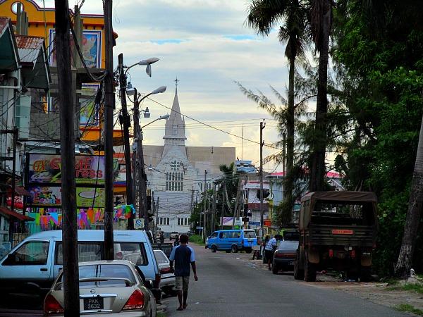 Church Street Georgetown Guyana