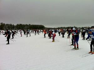 American Birkebeiner cross-country ski marathon