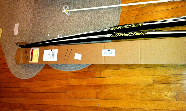 Fischer cross-country skis