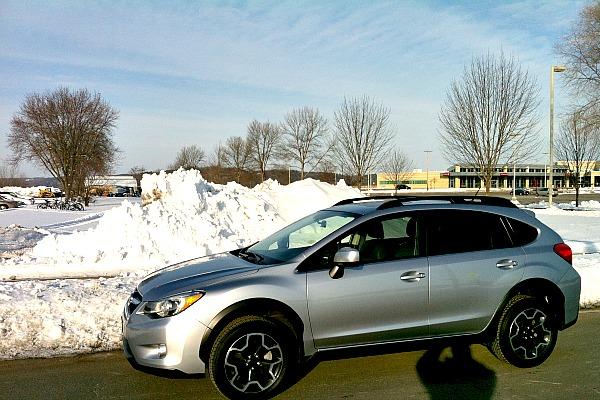 Subaru Crosstrek winter adventure