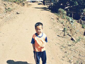 Cute boy Chiang Mai