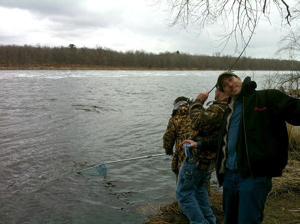 Wisconsin River fishing