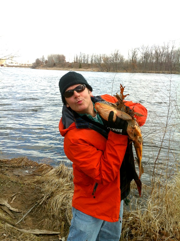 Wisconsin River carp