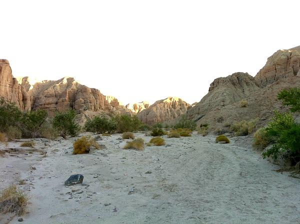 Mecca Hills canyon