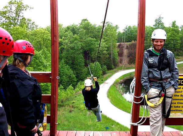 Red River Gorge zipline tour