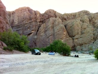 Mecca Hills Wilderness Area camping