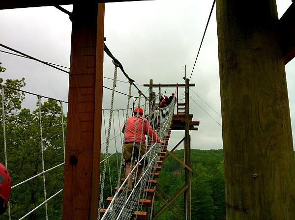 Red River Gorge zipline adventure