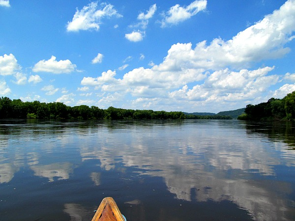 Wisconsin River Blue River
